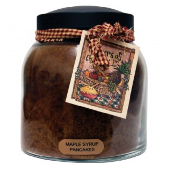 A Cheerful Giver Maple Syrup Pancakes Papa Jar Candle-maple syrup candles, a cheerful giver, Jacksonville candles
