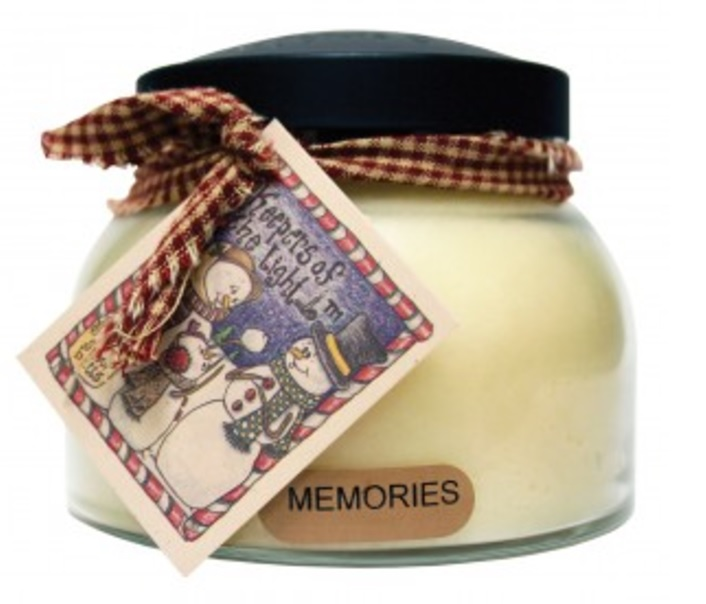 A Cheerful Giver Memories Mama Jar Candle-balsam and fir candle, cedar candle, cinnamon candle, a cheerful giver, Jacksonville candles