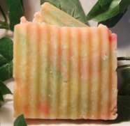 Handmade Soap - Cucumbermelon-natural, handmade soap, cucumbermelon, Ladybug Blessings