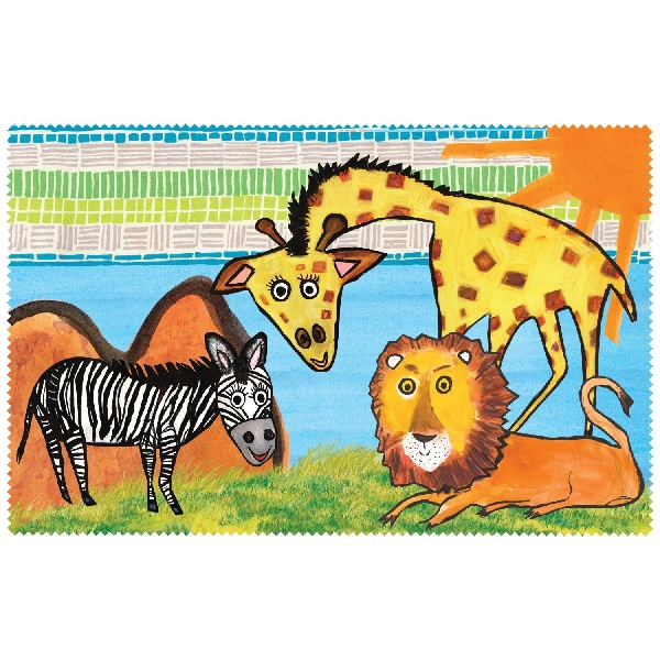 Imagination Safari Placemat-emily green, imagination, childrens, toys