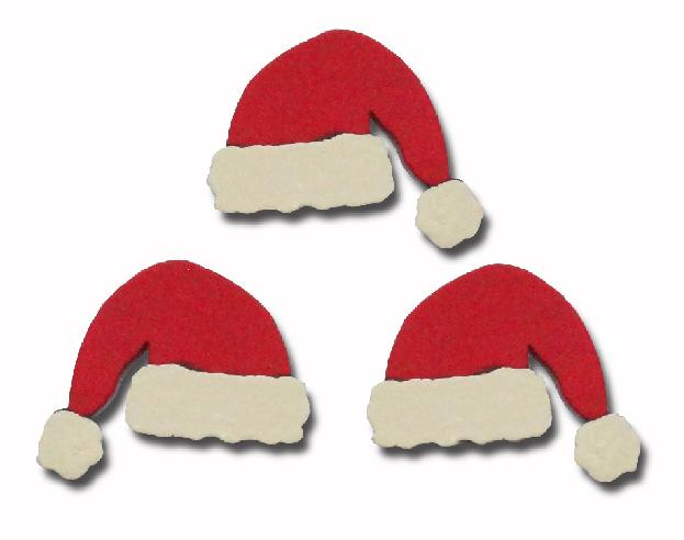 Santa's Hat, 3-Pack-Roeda, magnetic, magnet, photo, display