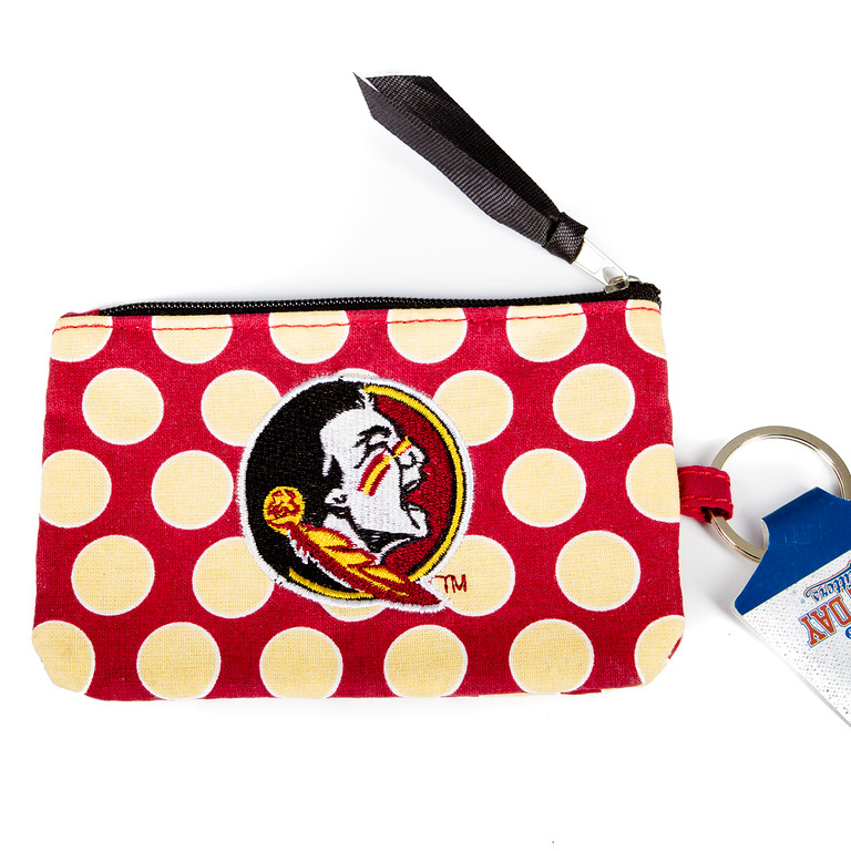 Clutch with Key Fob - Seminoles-seminoles, florida, football, clutch, purse, bag, clutch bag, clutch purse, jacksonville, florida
