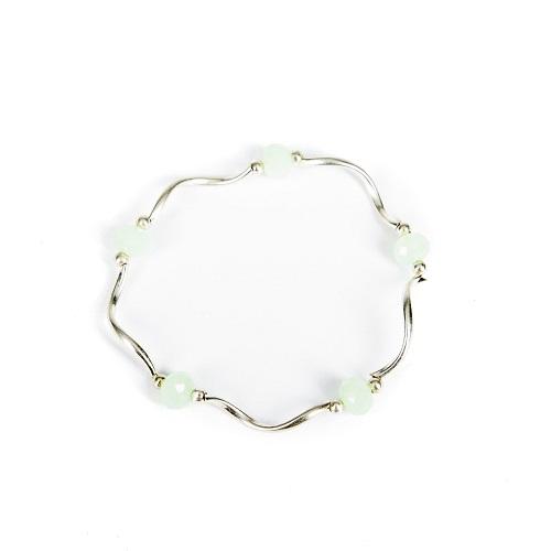 Silver Bangle - Mint-jewelry, bracelet, bangle