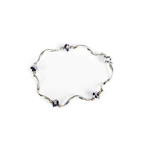Silver Bangle - Silver-jewelry, bracelet, bangle