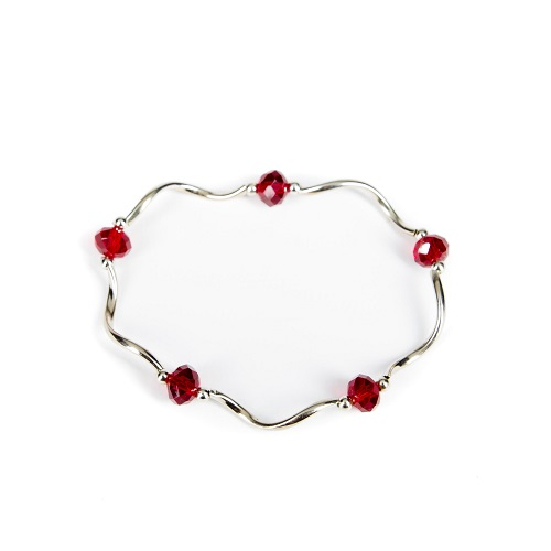 Silver Bangle - Wine-jewelry, bracelet, bangle