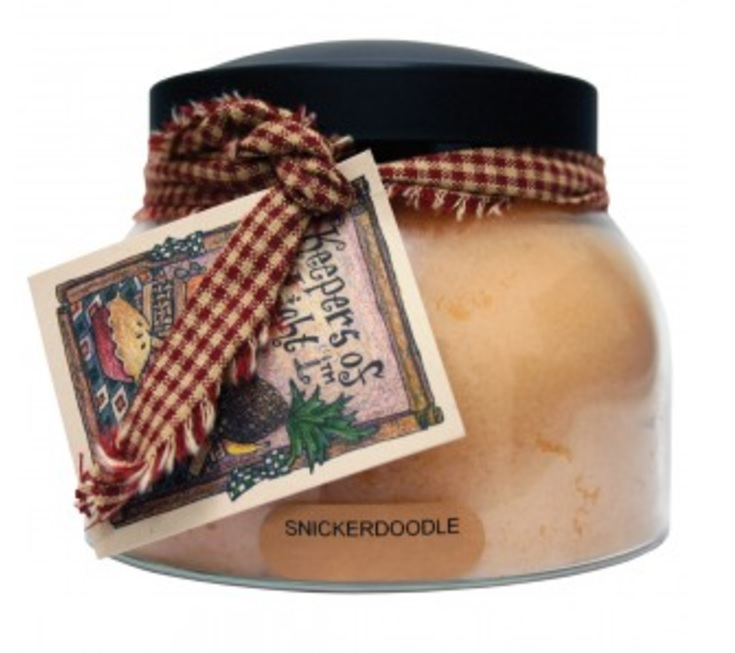 A Cheerful Giver Snickerdoodle Mama Jar Candle-snickerdoodle, sugar cookie candle, a cheerful giver, Jacksonville candles