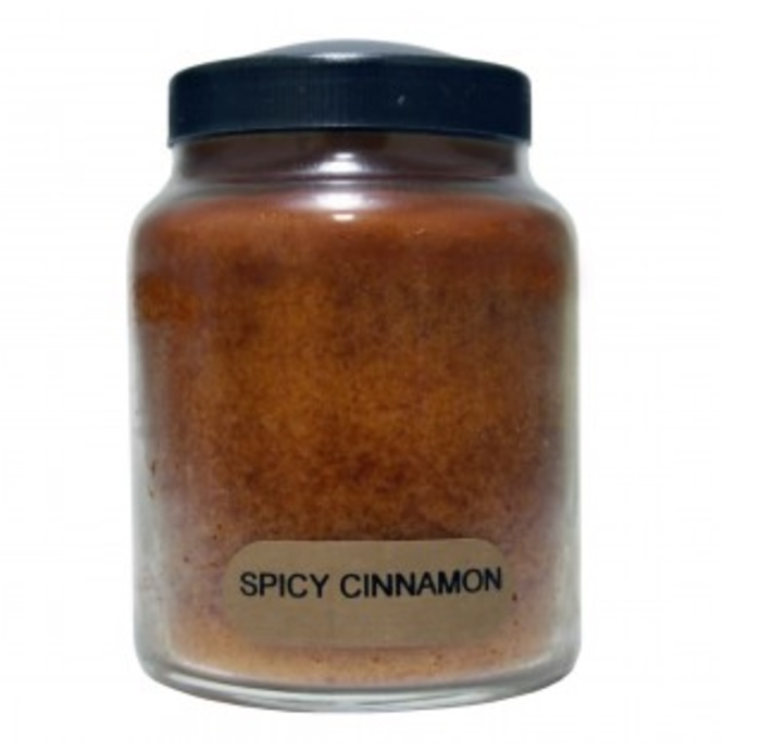 A Cheerful Giver Spicy Cinnamon Baby Jar Candle-spicy cinnamon candle, vanilla candle, a cheerful giver, Jacksonville candles. cinnamon candle