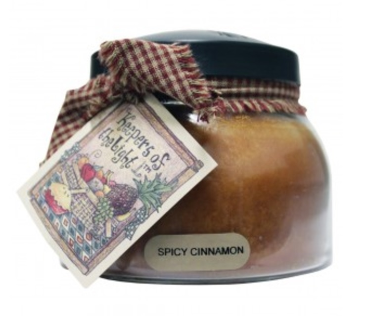 A Cheerful Giver Spicy Cinnamon Mama Jar Candle-cinnamon candle, spicy cinnamon, a cheerful giver, Jacksonville candles