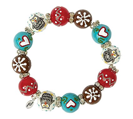 Woodland Owl Bracelet-owl, woodland, bracelet, kate and macy, winter